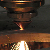 Metallin laserleikkaus